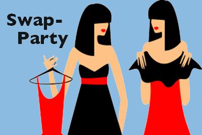 Swap-Party in Seefeld – Kleider tauschen für Damen und Teenies... Freitag, 15. März 2019, ab 19.30 Uhr
