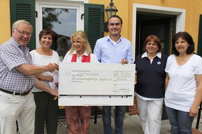 Heilerschule spendet € 1.000,-- für Kinderprojekt an die Seefelder Nachbarschaftshilfe