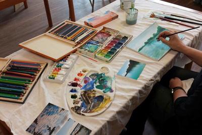 Kreativ-Angebote von Gudrun Schlemmer, ab Herbst 2020 wieder Mal-Seminare in der NBH Seefeld